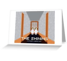 The Shining, Twins Greeting Card