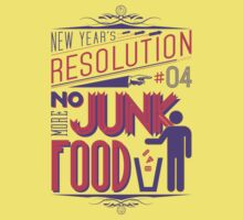 New Year's Resolution #4 - No more junk food by Viktor Hertz
