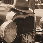 The Ford and the Fedora in Sepia by MarquisImages