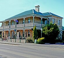 Richmond Arms Hotel, Tasmania by Margaret  Hyde