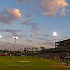 Summertime Sky & Baseball by hanforddennis