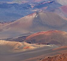 Haleakala National Park, Maui by Barb White