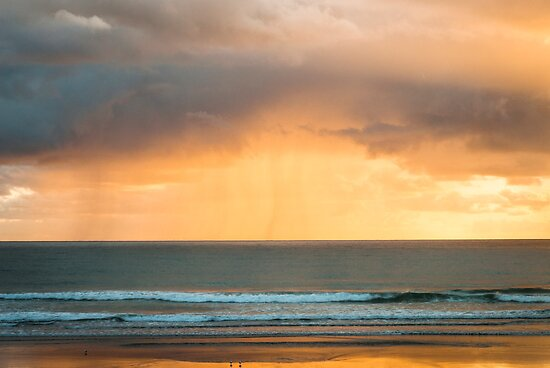Sunrise And Rain by Andrew Lever