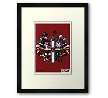 Criminal Coat of Arms Framed Print