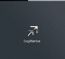 Apple Smart Phone Style with Astrology Sagittarius Sign | by scottorz
