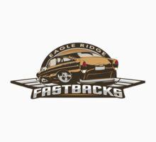 Eagle Ridge Fastbacks - Volkswagen sticker by KombiNation
