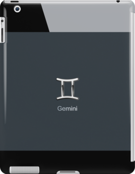 Apple Smart Phone Style with Astrology Gemini Sign   by scottorz