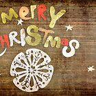 Merry Christmas Fine Art Print by fine-art-prints