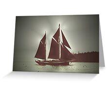 Sailing boat Greeting Card