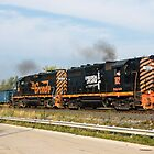 Wheeling & Lake Erie Railroad by StonePhotos