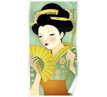 Geisha: Olive Poster