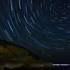 Star trails Skiathos bay, Skiathos, Greece by MJDphotography