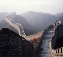 Great Wall by dolphinandcow