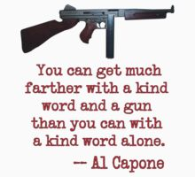 Great Al Capone Quote about Motivation by Chunga