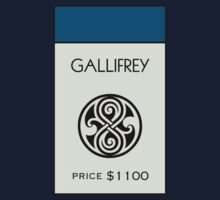 Gallifrey Monopoly Location (Doctor Who) by huckblade