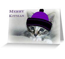 Merry Kitmas Greeting Card