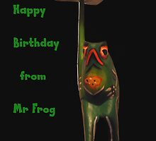 Mr Frog card by Forfarlass