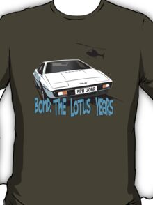 Lotus Esprit Series 1.  The Bond model T-Shirt