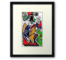 The Chaos of Life (color) Framed Print