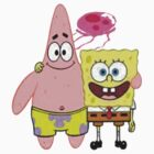 Spongebob and patrick t-shirt  by Number1Design
