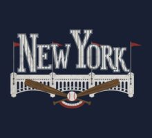 New York Baseball Kids Clothes