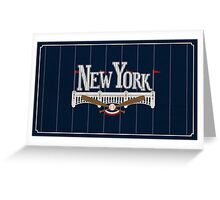 New York Baseball Greeting Card