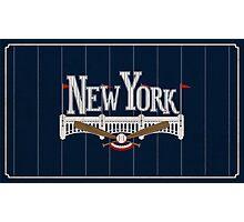 New York Baseball Photographic Print