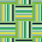 Fancy Green Plaid by Carol-Anne Ryce-Paul