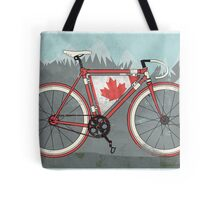 Love Bike, Love Canada Tote Bag