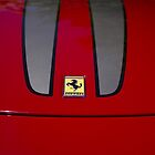 Ferrari F430 Scuderia : Hood Badge by Gstudio