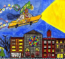 Flying taxi: Christmas time is in the air again! by Alberto  DeJesus
