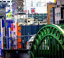 Tokyo Skyline by Shannon Friel