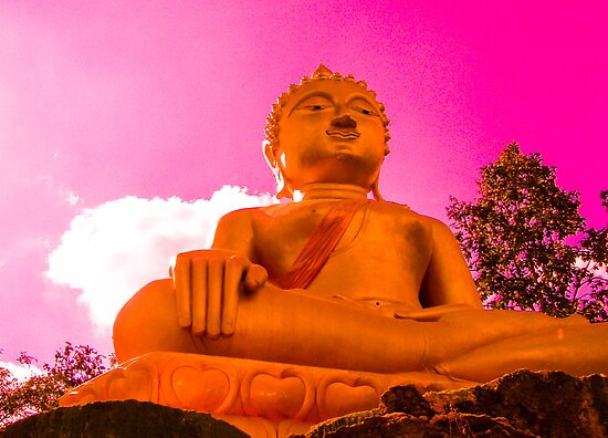 Golden Buddha by KerryPurnell