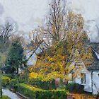 Falling leaves by Gilberte