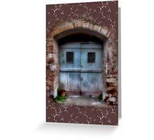 Character Doors Greeting Card