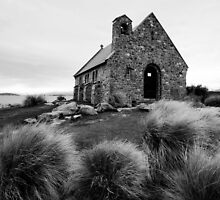 Church of The Good Shepard, Lake Tekapo, New Zealand by LeahK