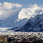 Matanuska Glacier by Caren della Cioppa