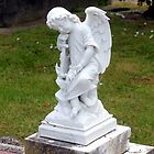Angel headstone by HJRobertson
