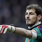 REAL MADRID, Iker Casillas, FOOTBALL by fine-art-prints