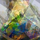 Abstract Polygons 222 by Christopher Johnson