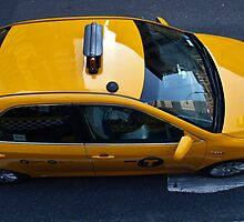 Yellow Cab by Stephen Burke