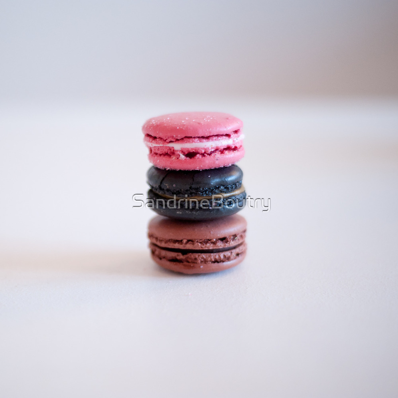 I <3 macaroons by SandrineBoutry