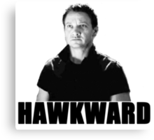 Hawkward Canvas Print