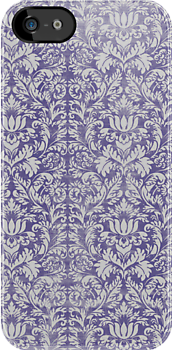 purple damask by ltdRUN