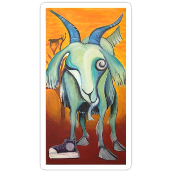 Crazy Goat by Maryevelyn Jones