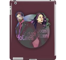 Joan and Sherlock iPad Case/Skin