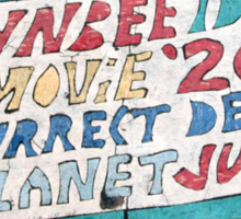 Toynbee and Resurrect Dead and Planet Jupiter Sticker