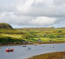 Bracadale on the Isle of Skye by Chris Thaxter