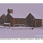 &quot;Snowstorm in time&quot; Bartley Ranch, Reno, NV by Ellen  Holcomb