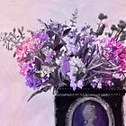 Wild Flower Bouquet - Digital Pastel by Sandra Foster